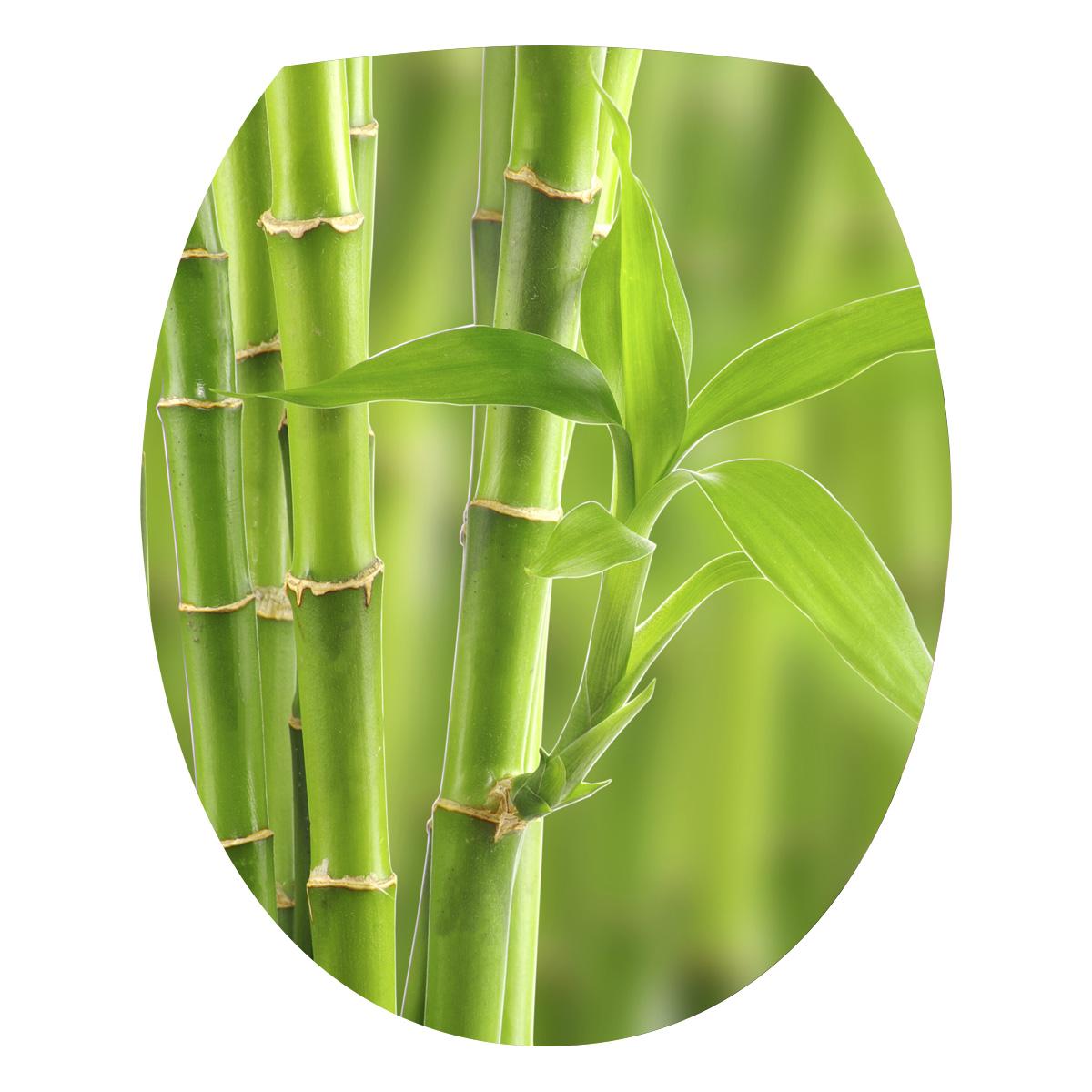 Stickers Muraux Pour Wc Sticker Mural Vert Branche De Bambou