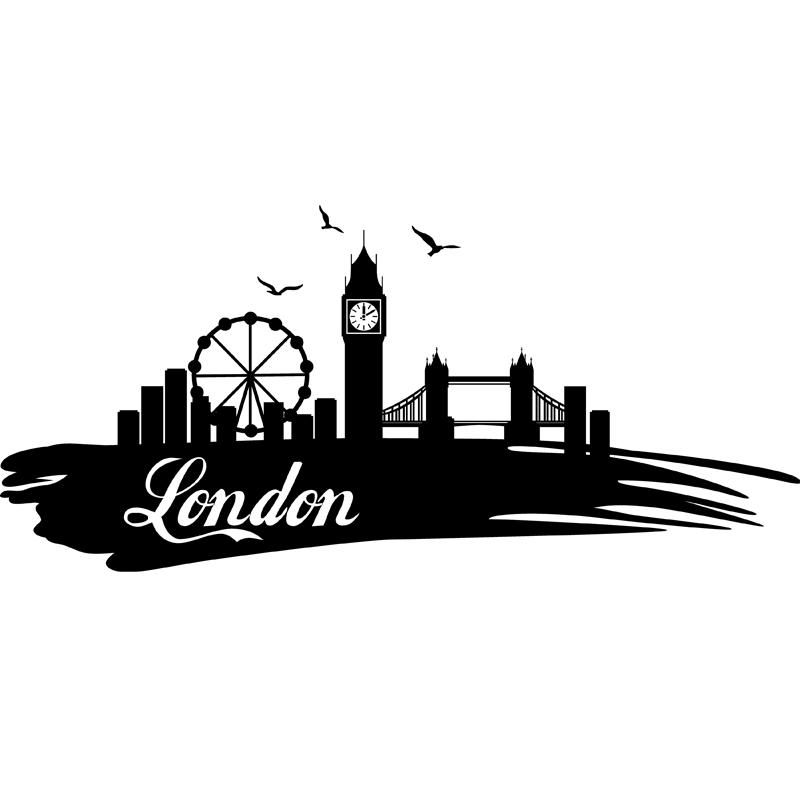 Sticker Ville De Londres Stickers Villes Et Voyages