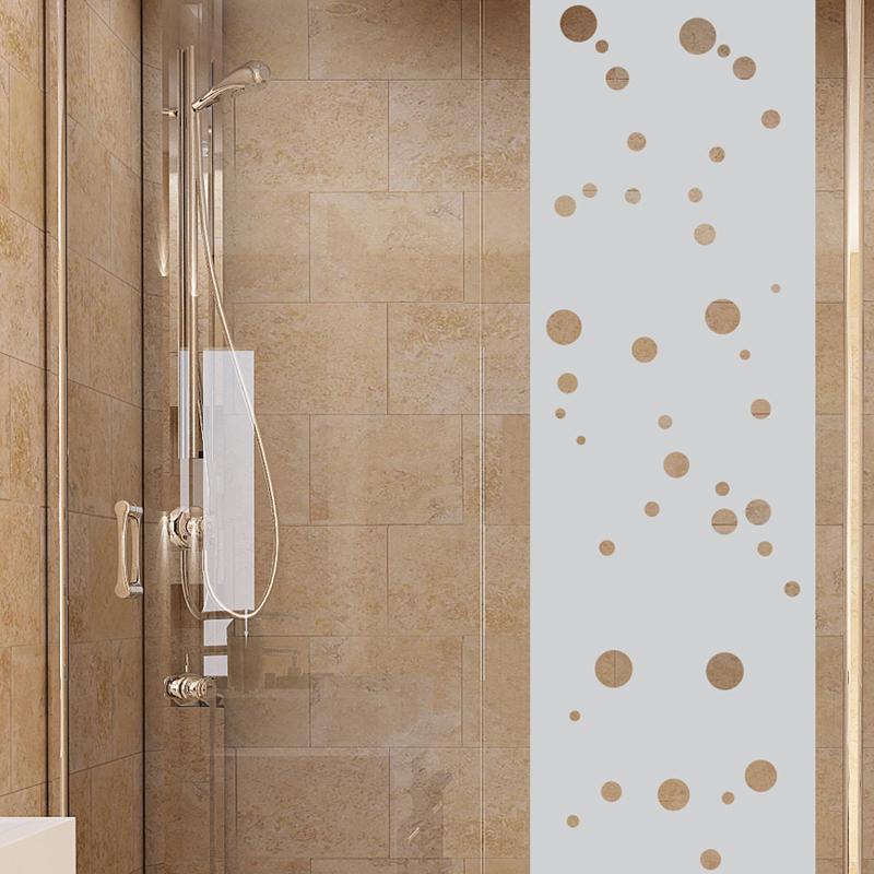stickers muraux pour portes de douche petites bulles. Black Bedroom Furniture Sets. Home Design Ideas