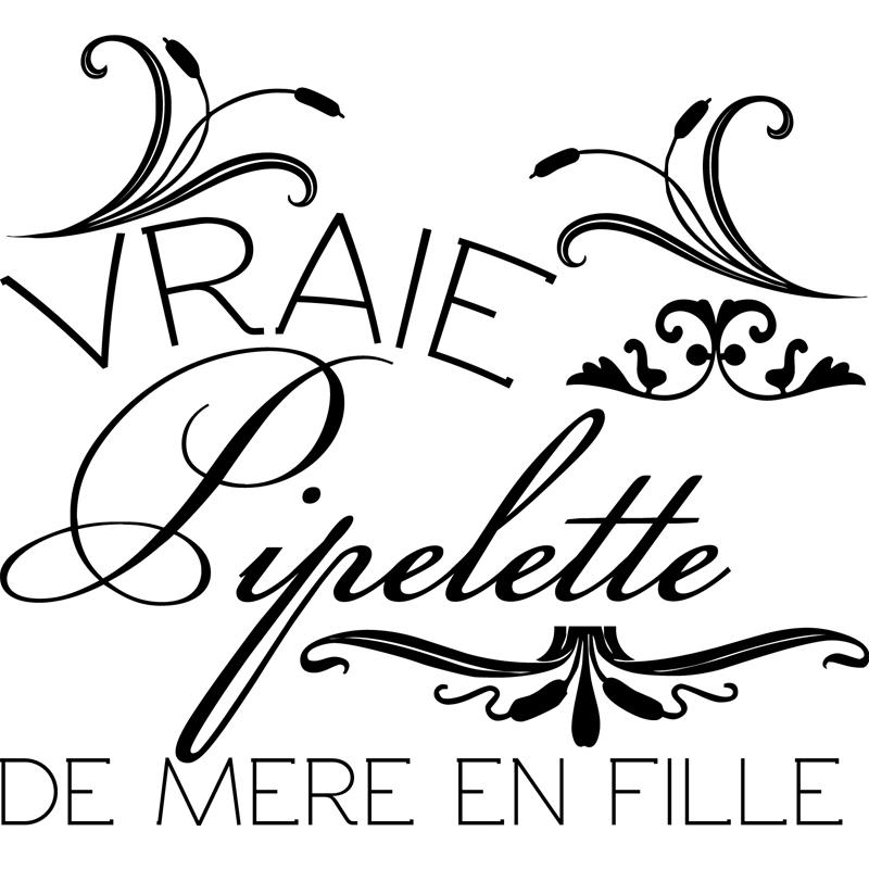 Sticker Vraie Pipelette De M Re En Fille Stickers