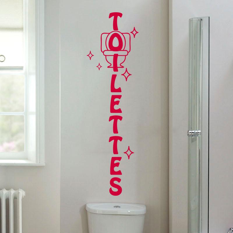 sticker wc toilettes design stickers toilettes porte ambiance sticker. Black Bedroom Furniture Sets. Home Design Ideas