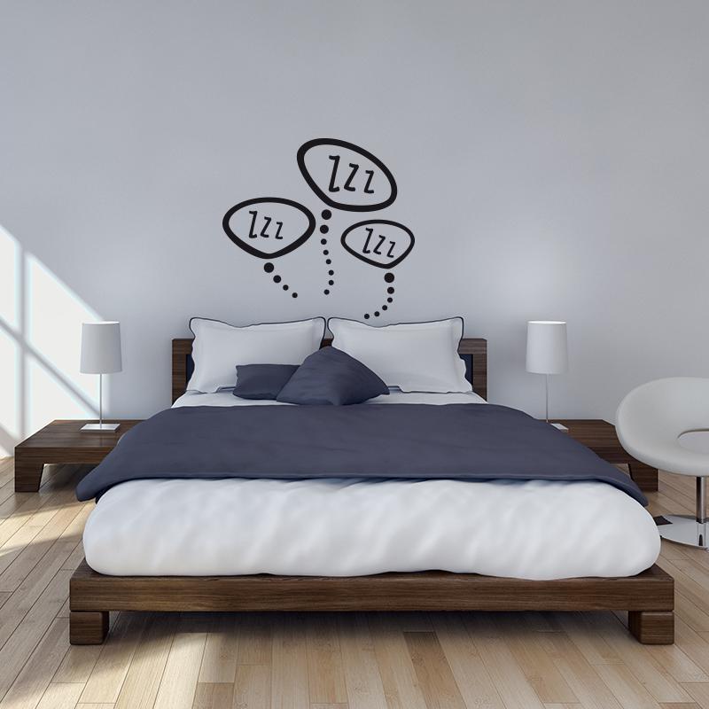 Stickers muraux pour chambre sticker mural zzz zzz - Stickers muraux pour chambre ...