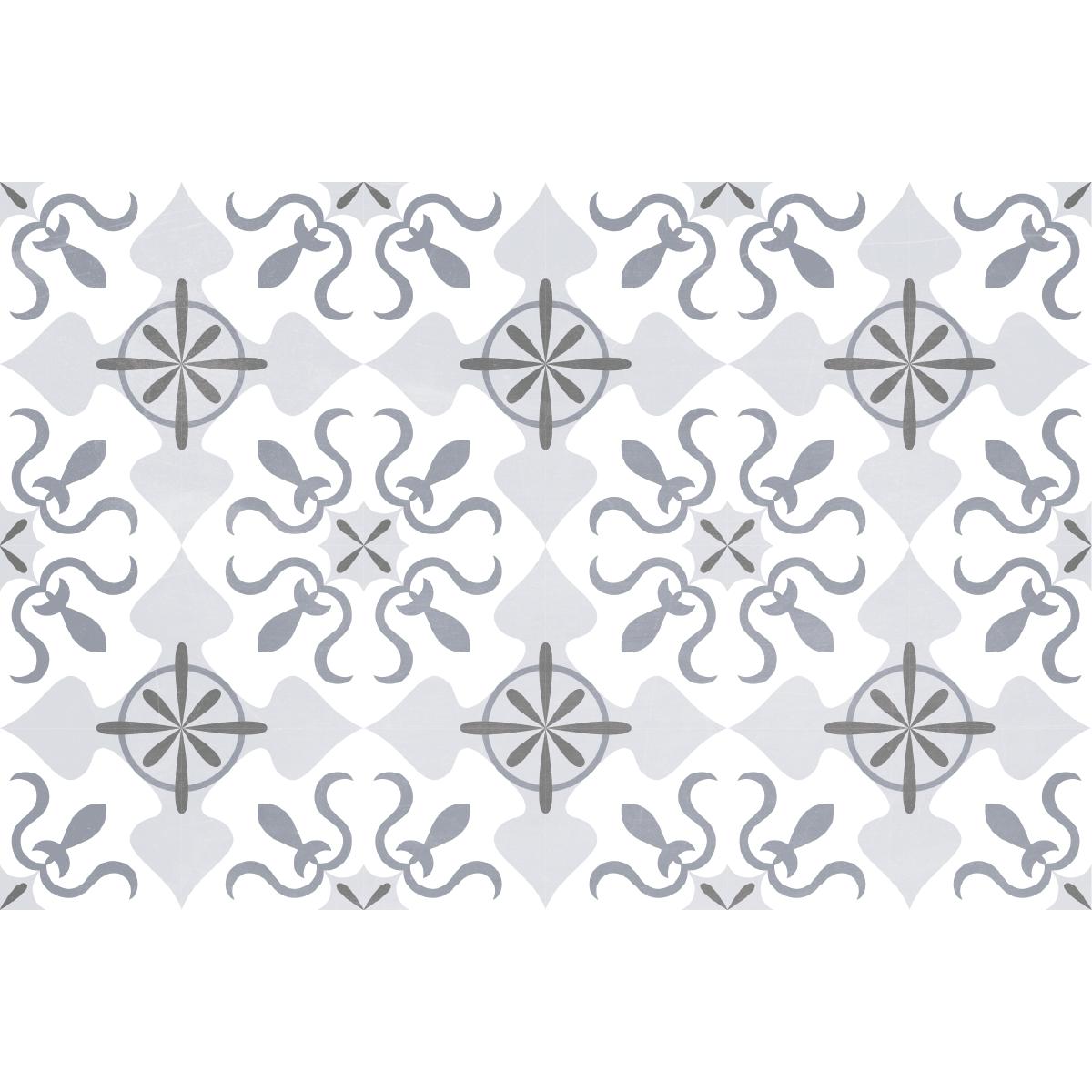 stickers carreaux de ciment sol spartaco anti d rapant. Black Bedroom Furniture Sets. Home Design Ideas