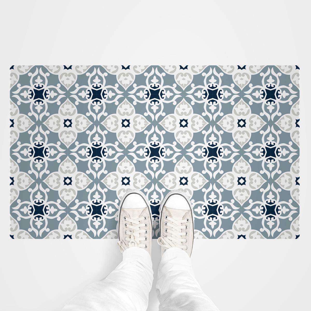 stickers carrelages sol calliona anti d rapant 60x100 cm. Black Bedroom Furniture Sets. Home Design Ideas