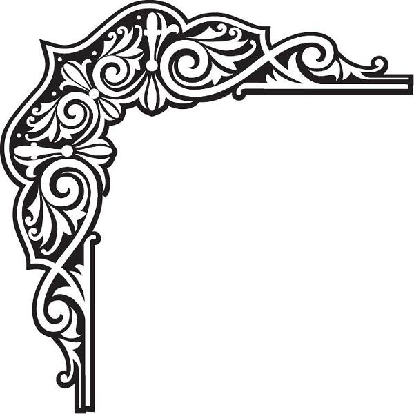 fresque d 39 angle 2 stickers deco. Black Bedroom Furniture Sets. Home Design Ideas