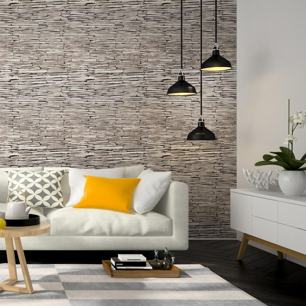 stickers mat riaux parement de pierres de l 39 le blanche. Black Bedroom Furniture Sets. Home Design Ideas