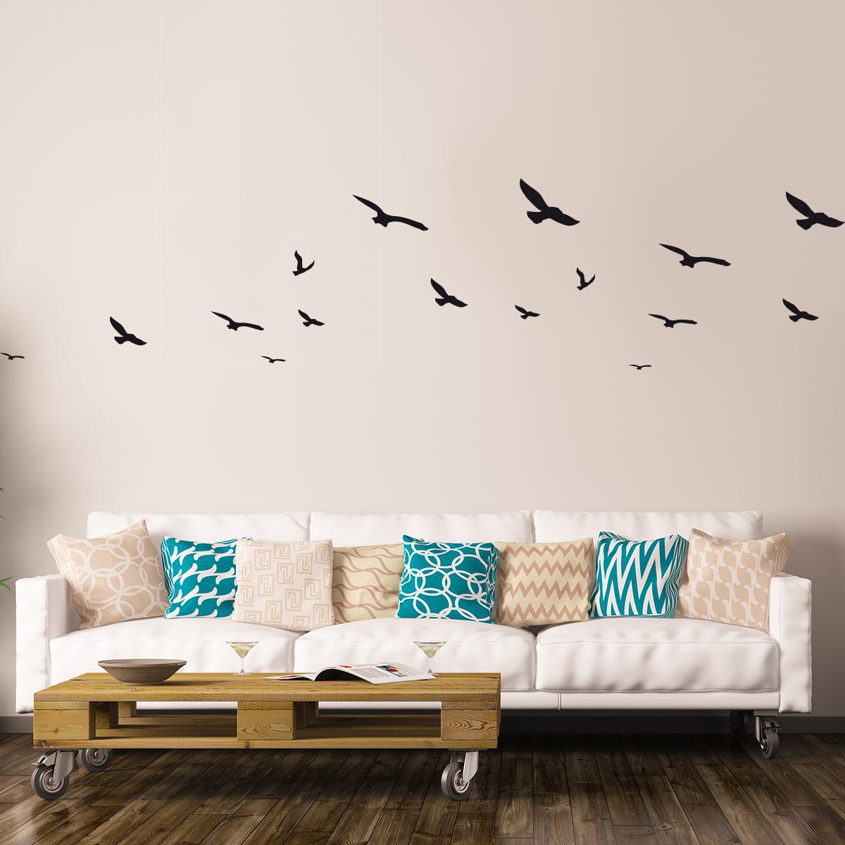 Cool stickers oiseaux mouettes with maison du monde cage - Maison du monde cage oiseau ...