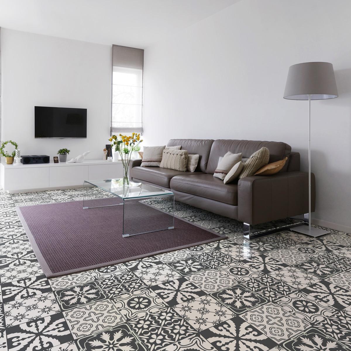 couper carreaux de ciment stickers sol carrelages stickers sol carreaux de ciment antidrapant. Black Bedroom Furniture Sets. Home Design Ideas