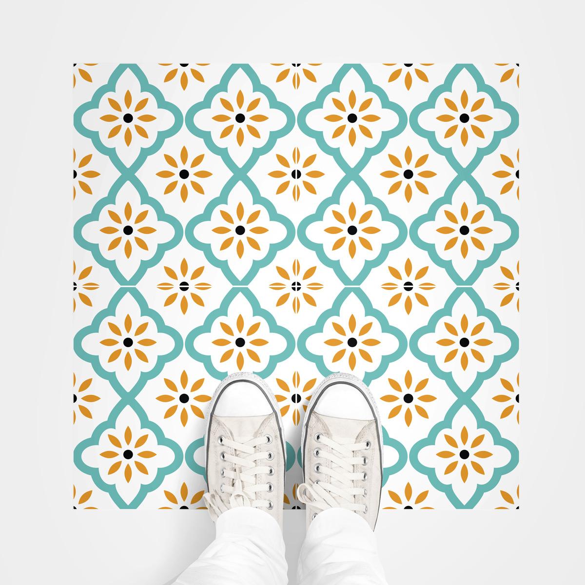 stickers sol carrelages anti d rapant marrakech salle de. Black Bedroom Furniture Sets. Home Design Ideas