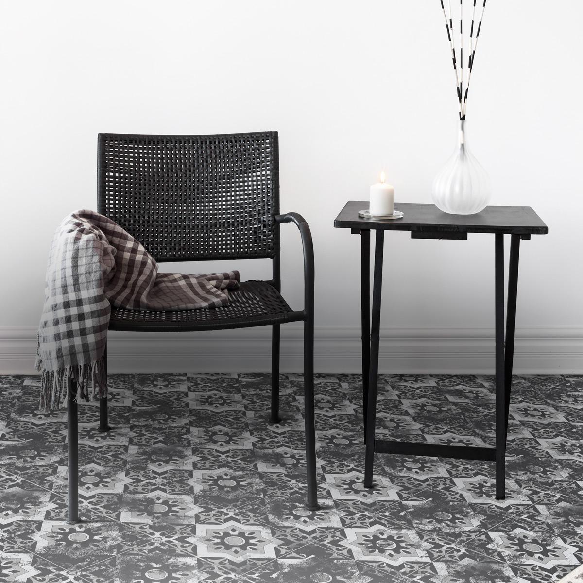stickers sol carrelages francisco anti d rapant salle de. Black Bedroom Furniture Sets. Home Design Ideas
