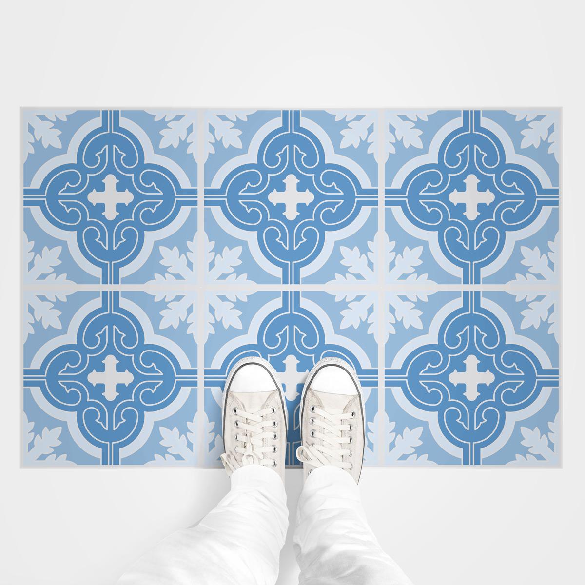stickers sol carrelages giovanna anti d rapant cuisine. Black Bedroom Furniture Sets. Home Design Ideas