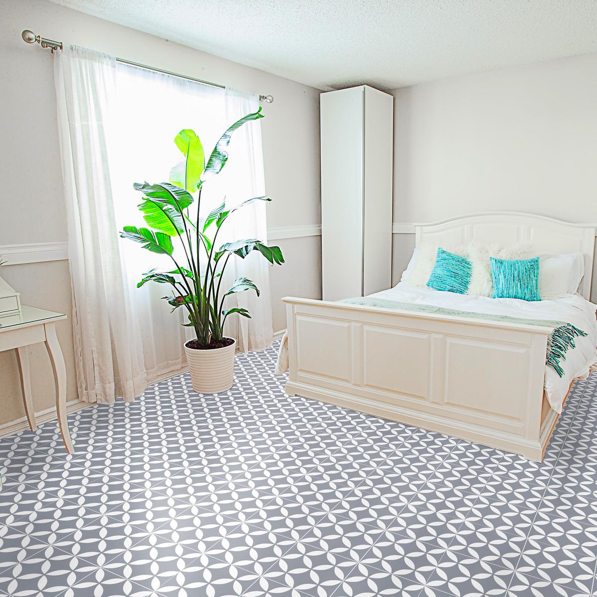stickers sol carrelages octavio anti d rapant cuisine. Black Bedroom Furniture Sets. Home Design Ideas