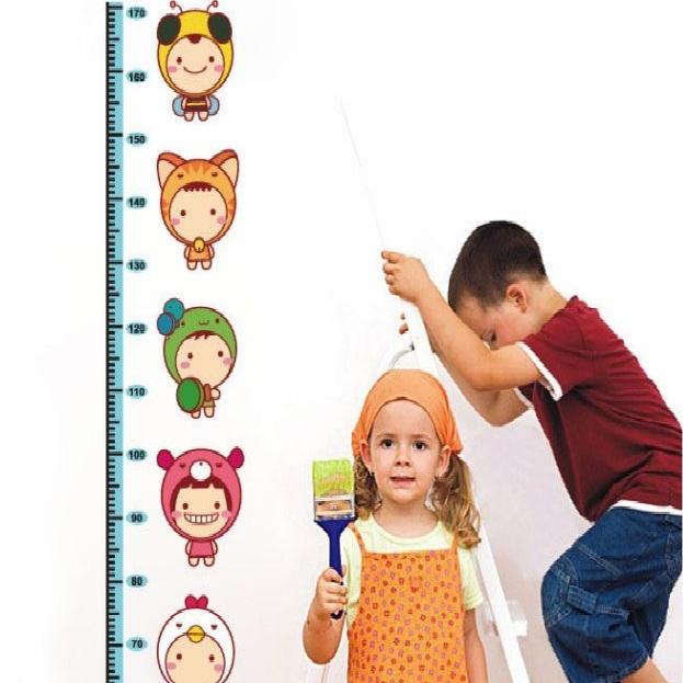 sticker toise miniboys stickers muraux enfants ambiance. Black Bedroom Furniture Sets. Home Design Ideas