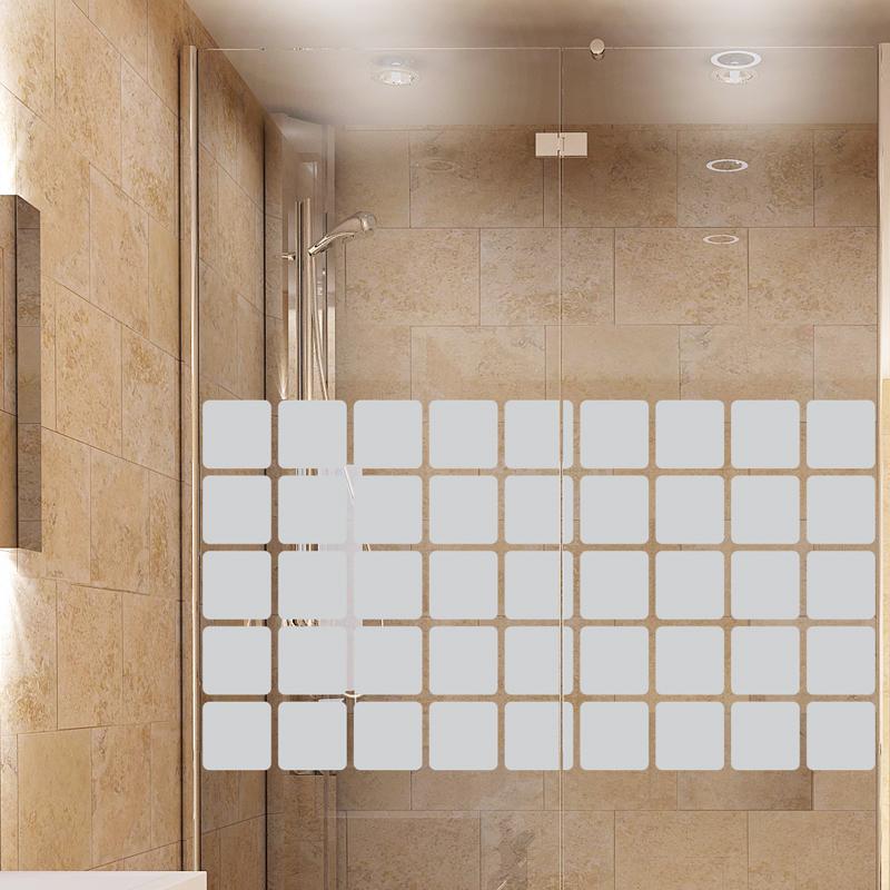 stickers muraux pour portes de douche en mosa que. Black Bedroom Furniture Sets. Home Design Ideas