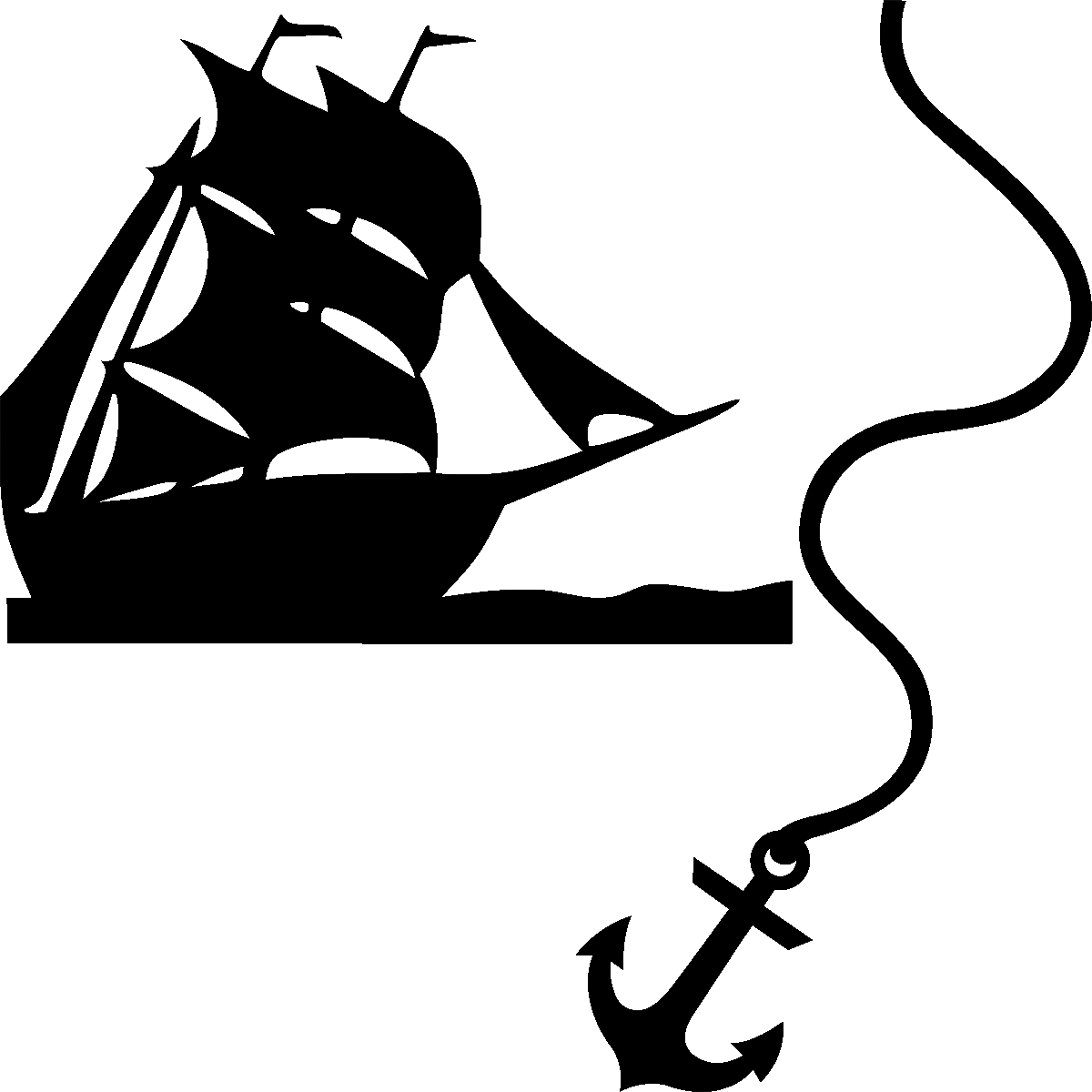 Wc Wall Decals Wall Decal Boat Anchor Ambiance Sticker Com