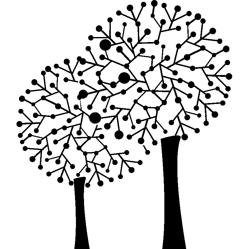 Sticker Arbres Sans Feuilles Stickers Stickers Nature Arbres Ambiance Sticker