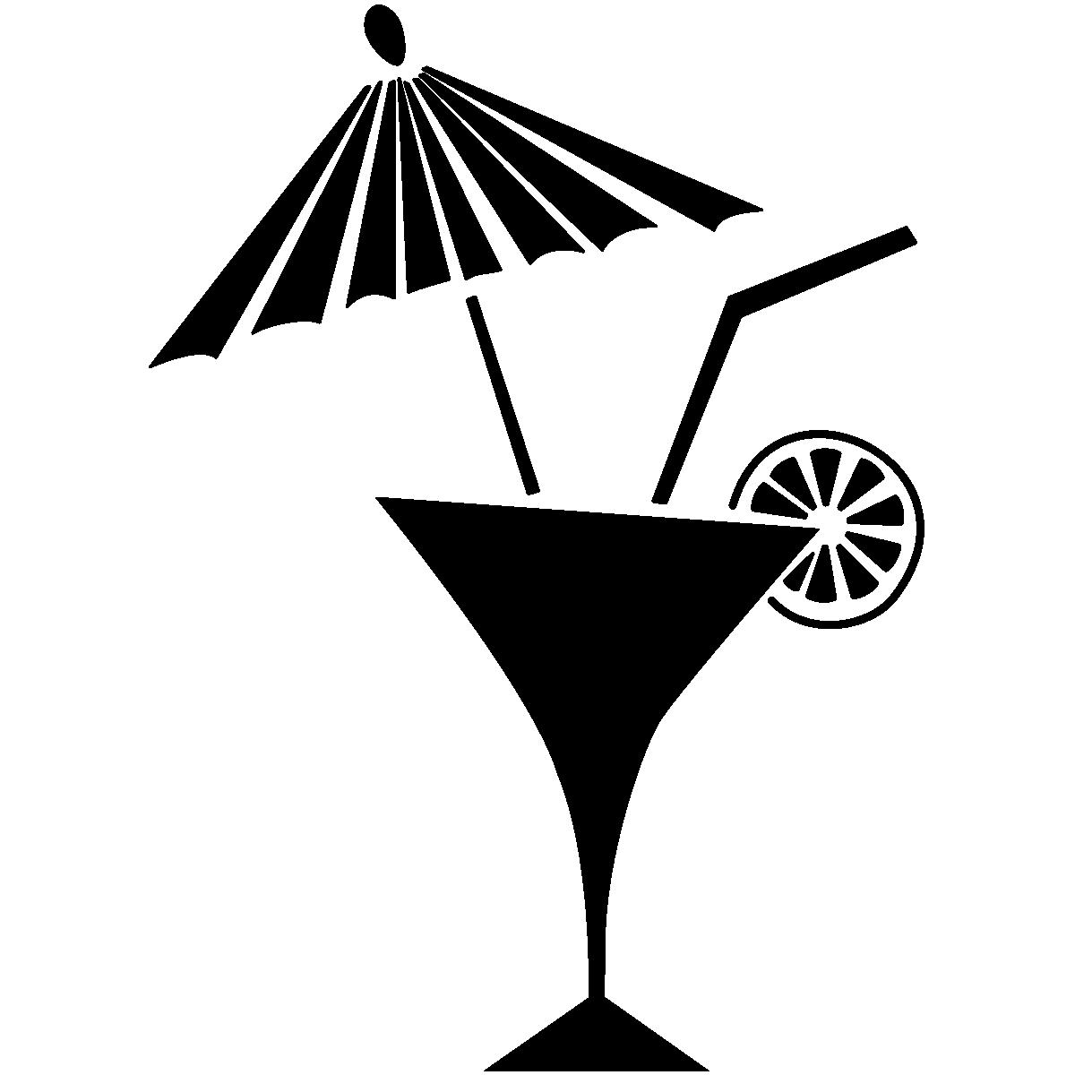 Sticker Design Cocktail D été