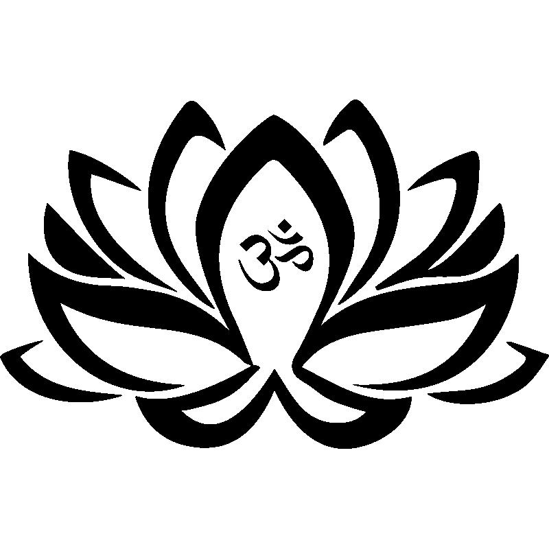 Sticker Fleur Lotus