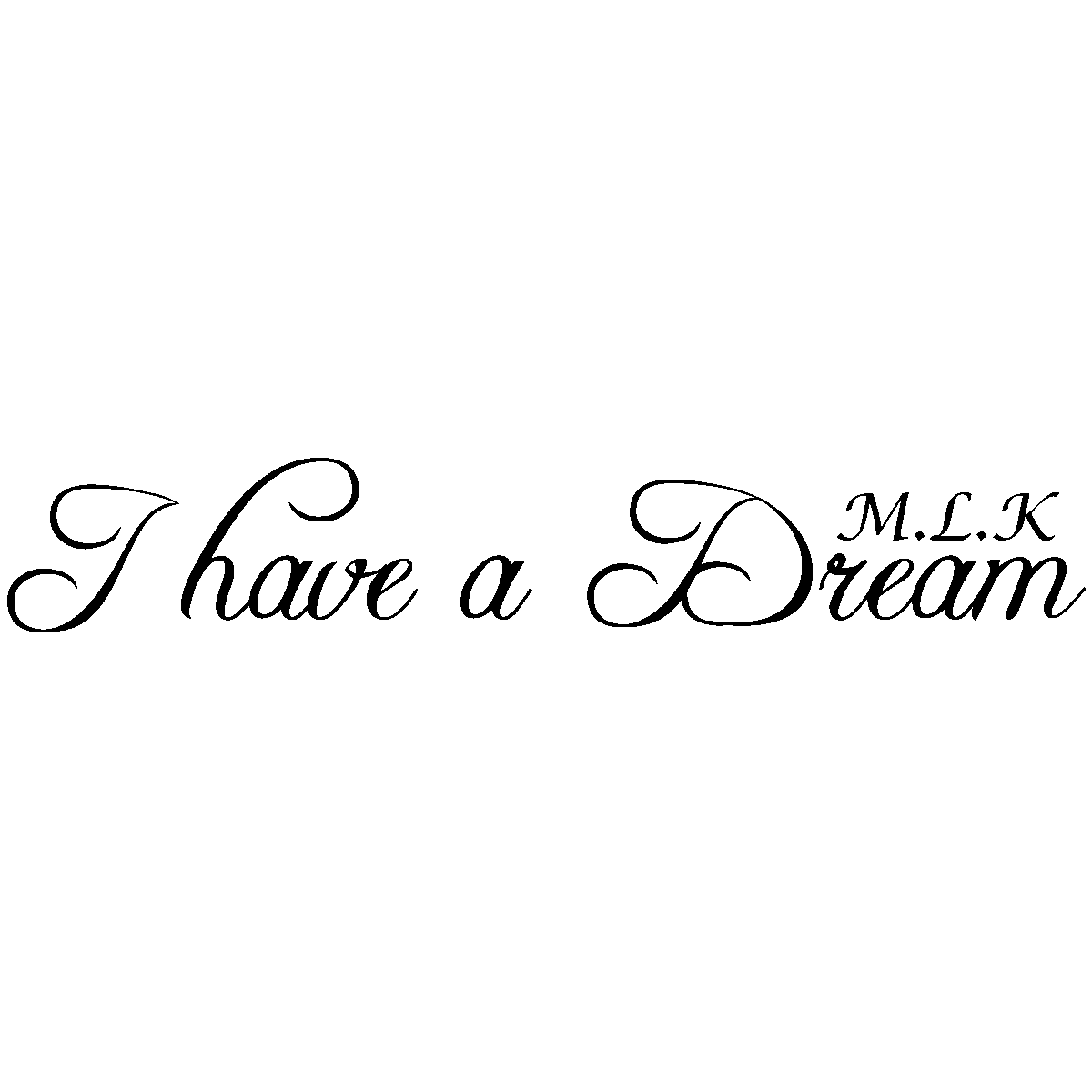 Sticker I Have A Dream Martin Luther King