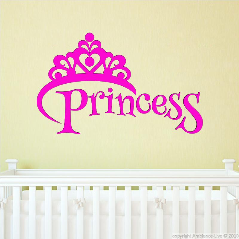 princess wall decal wall decals quotes english ambiance sticker