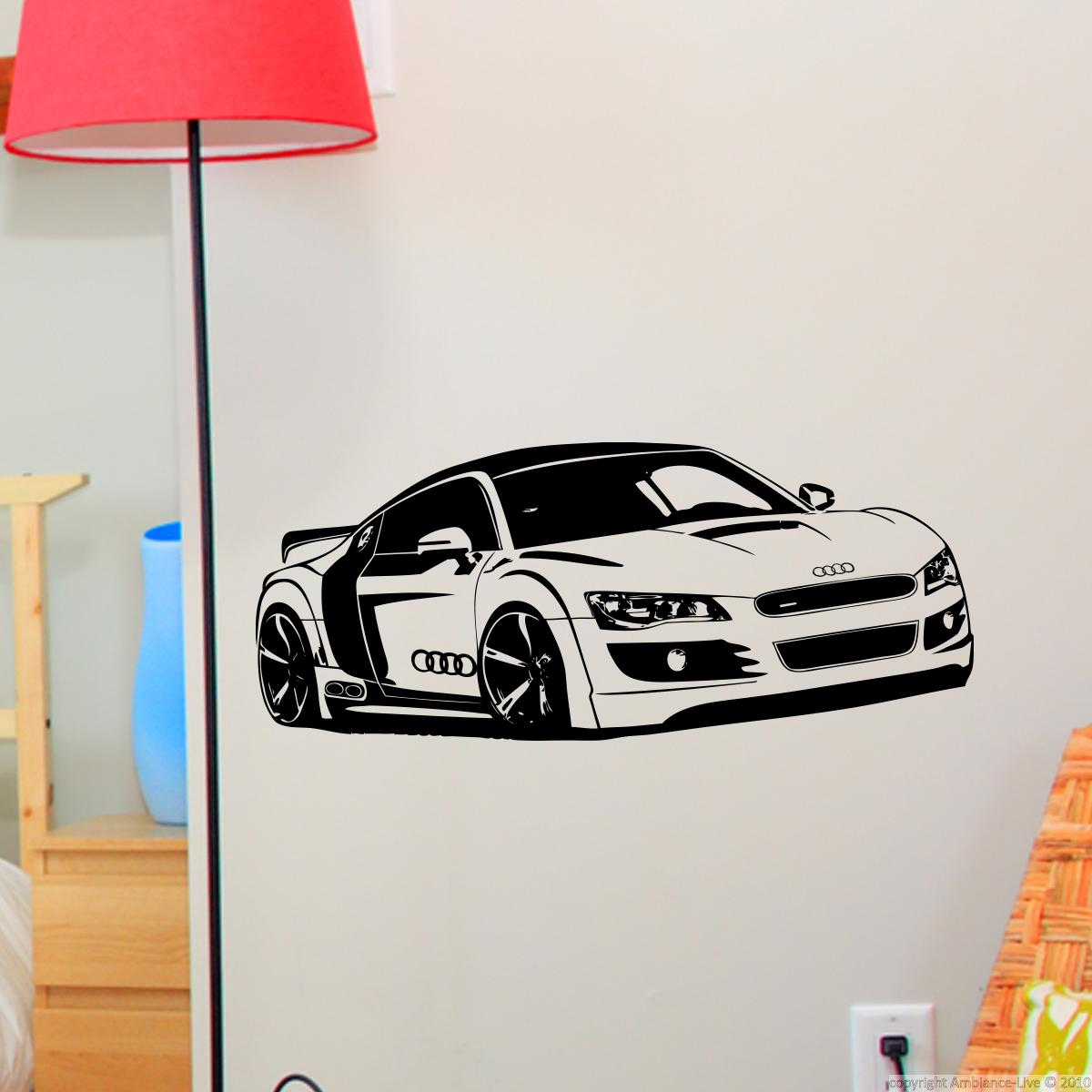 sticker voiture de sport stickers sports et football autres sports ambiance sticker. Black Bedroom Furniture Sets. Home Design Ideas