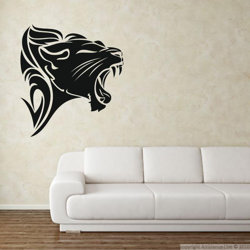 Lovely Lion Wall Decals - Home Design #934
