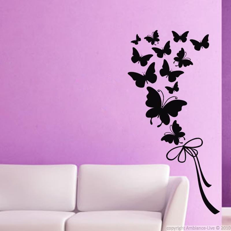 Vinilos decorativos animales vinilo mariposas y cinta for Vinilos mariposas