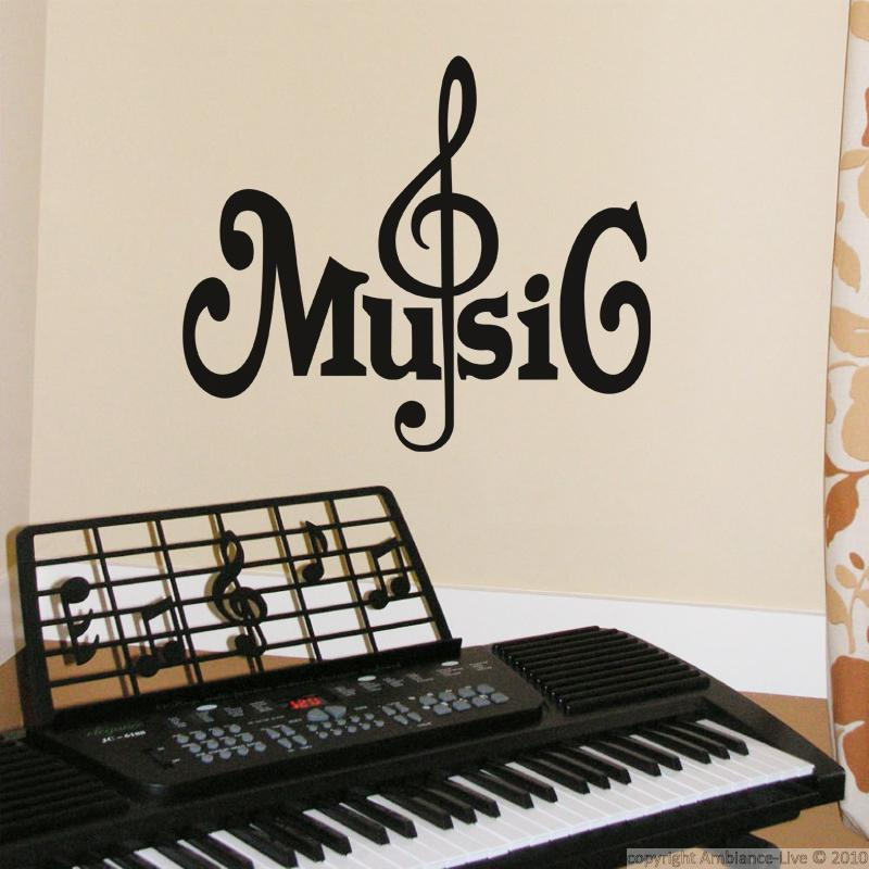 stickers muraux musique sticker design note ambiance. Black Bedroom Furniture Sets. Home Design Ideas