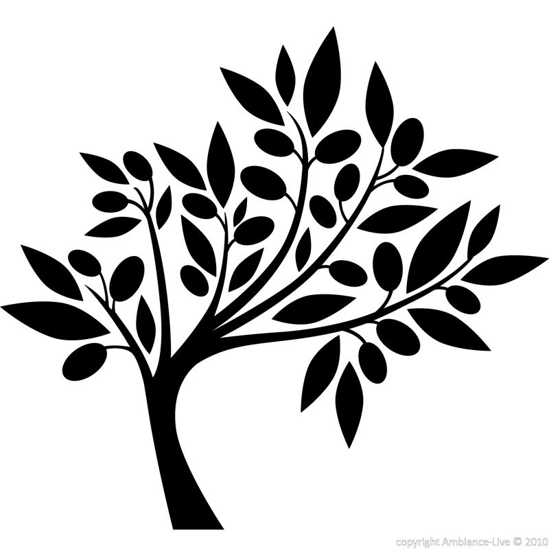 Flowers Wall Decals Decal Tree Silhouette