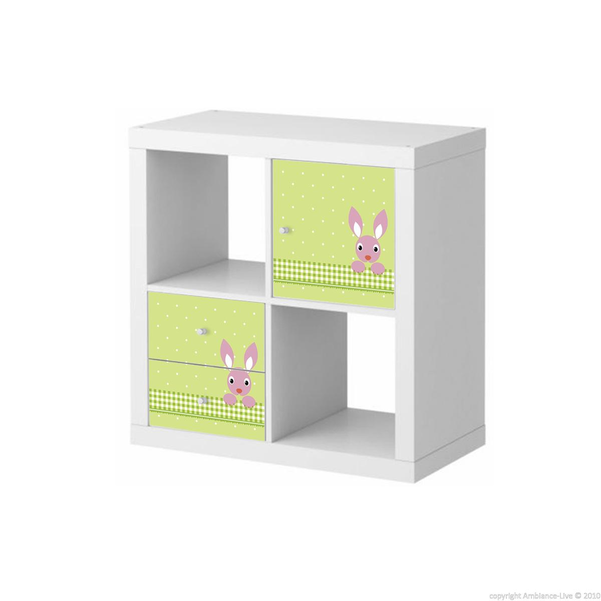 stickers meubles ikea stickers meubles ikea lapin sur le pr vert ambiance. Black Bedroom Furniture Sets. Home Design Ideas