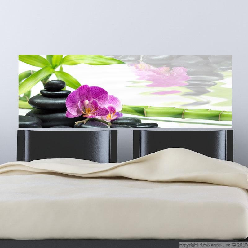 Sticker jardin paradisiaque stickers nature ambiance - Stickers muraux chambre adulte ...