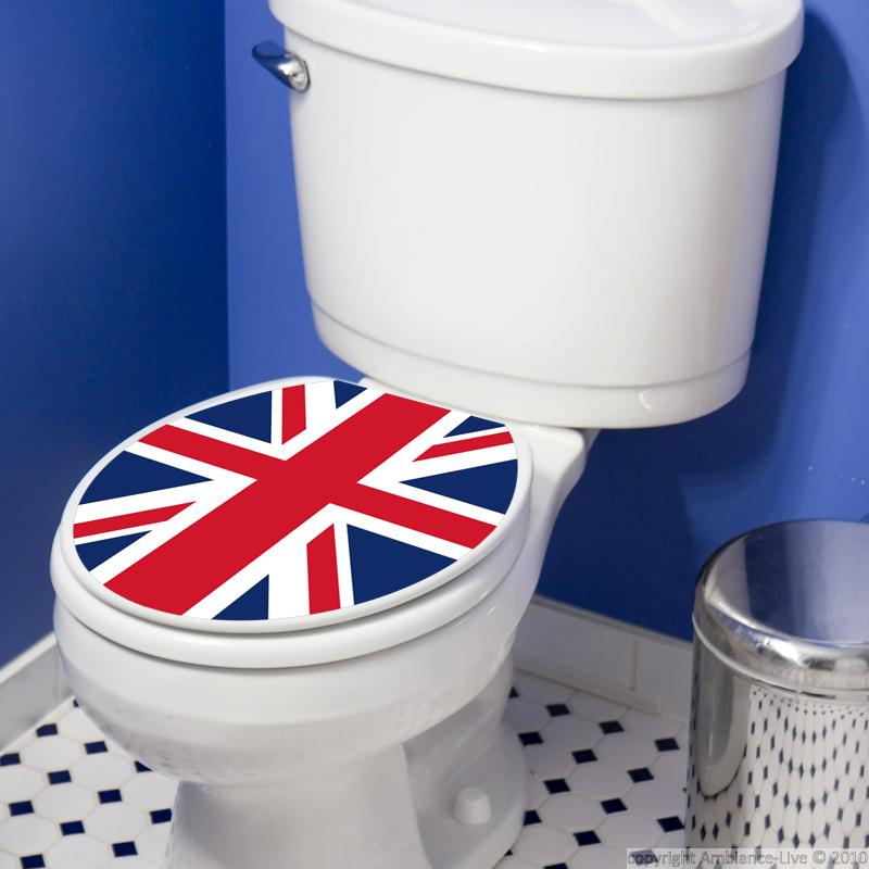 wc wall decals wall decal uk flag. Black Bedroom Furniture Sets. Home Design Ideas