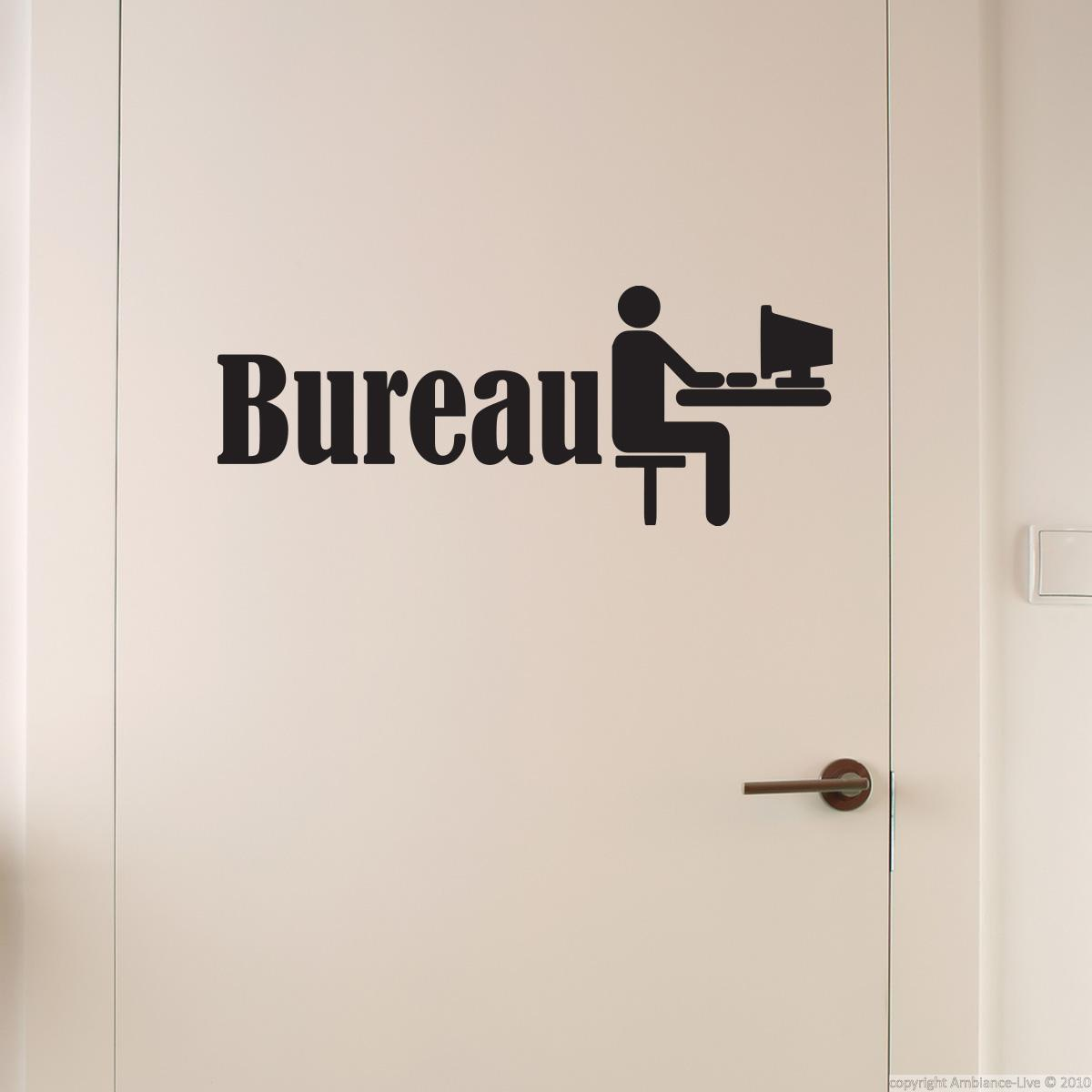 sticker porte bureau stickers mini stickers geek ambiance sticker. Black Bedroom Furniture Sets. Home Design Ideas