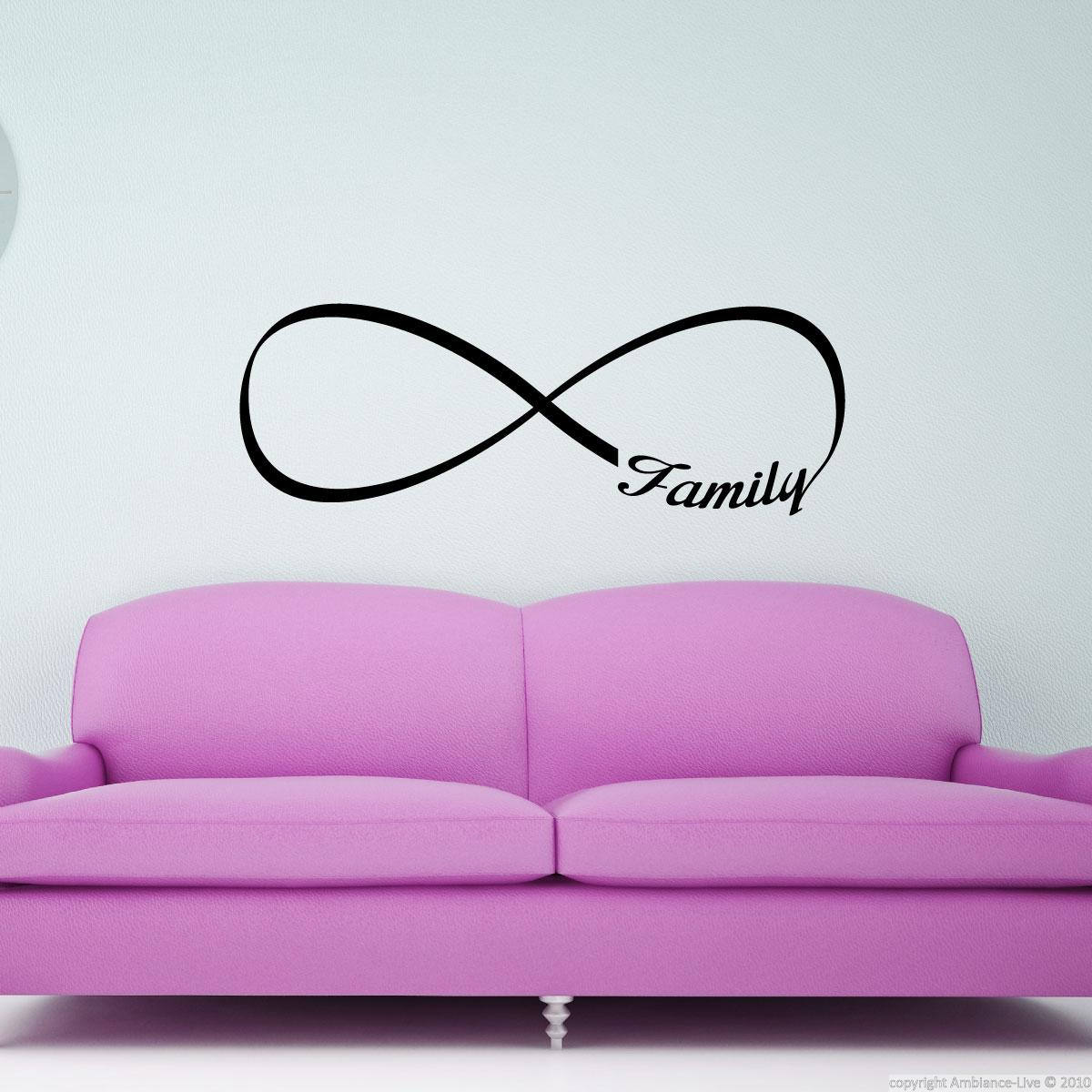 wandtattoos spr che wandtattoo familie in der. Black Bedroom Furniture Sets. Home Design Ideas