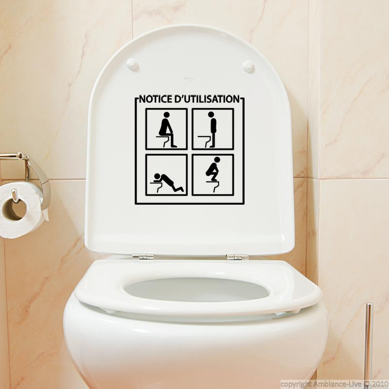 Muursticker wc muursticker instructies ambiance - Zen toilet decoratie ...