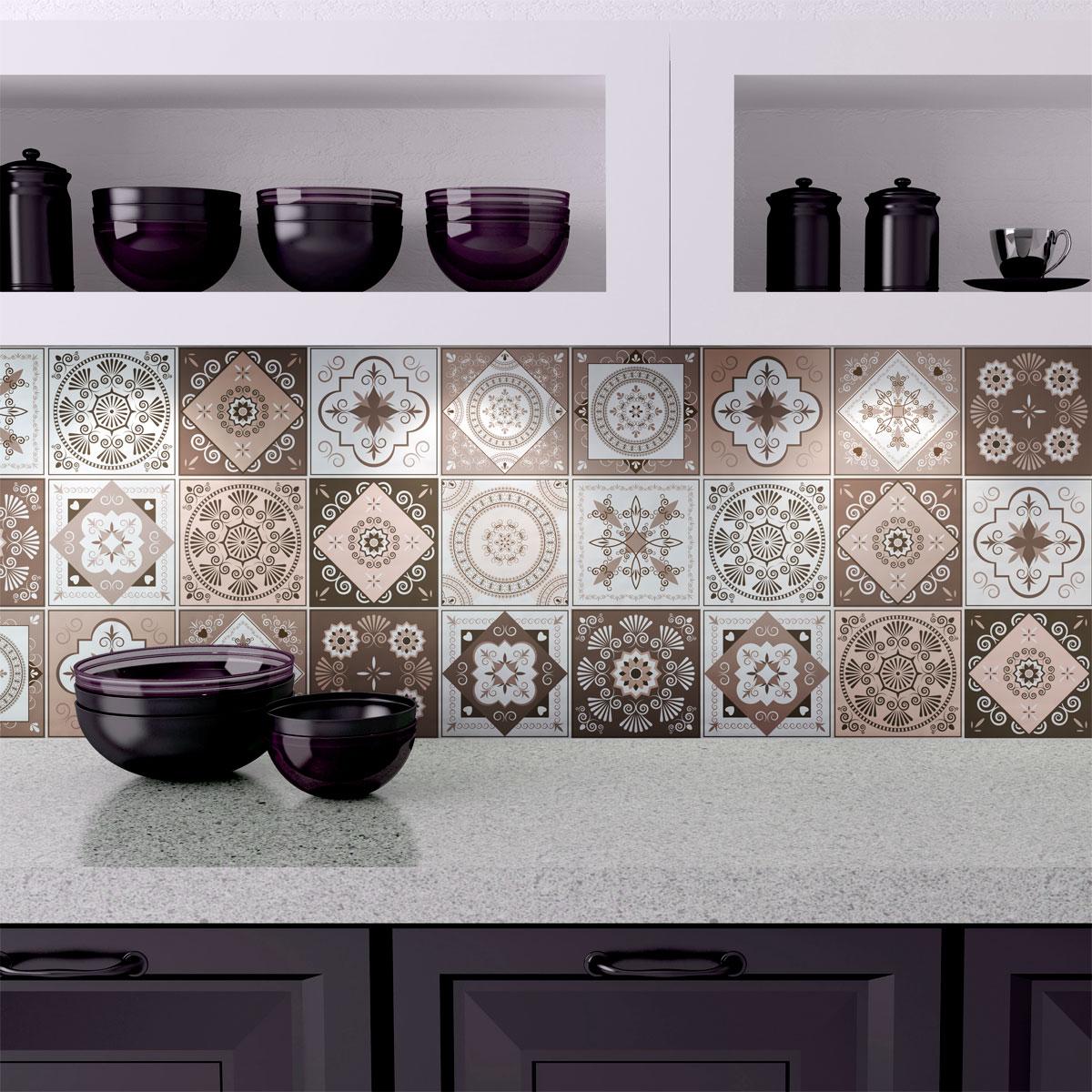 15 stickers carreaux de ciment ezeiza salle de bain et. Black Bedroom Furniture Sets. Home Design Ideas