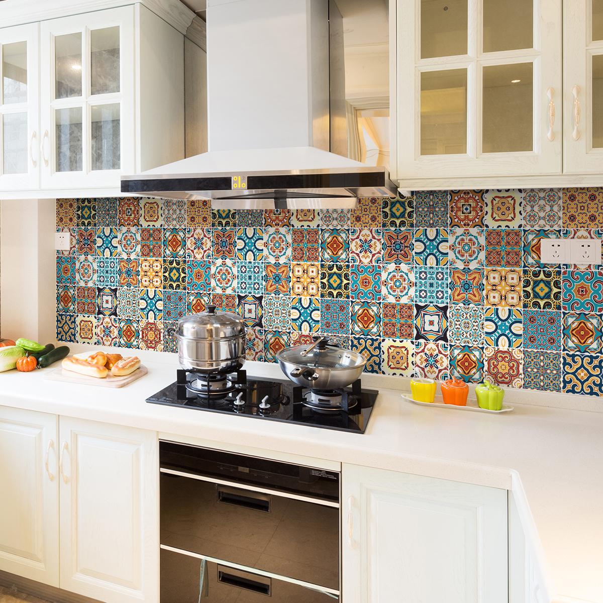 24 stickers carrelages azulejos bretina cuisine carrelages ambiance sticker. Black Bedroom Furniture Sets. Home Design Ideas