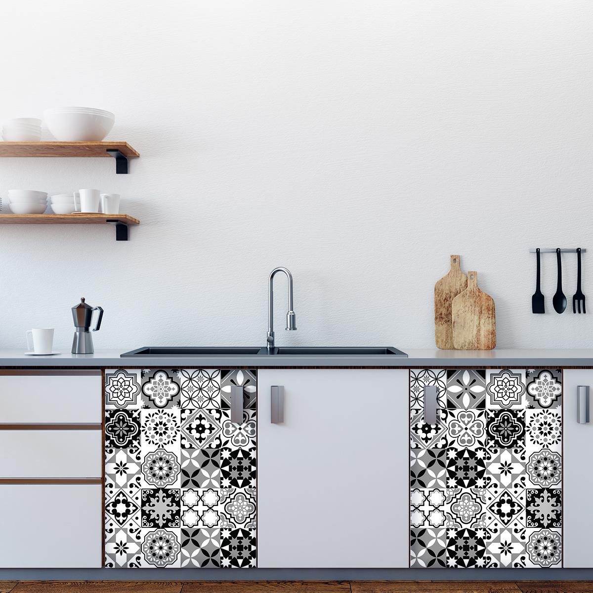 30 stickers carreaux de ciment meuble blasco stickers. Black Bedroom Furniture Sets. Home Design Ideas