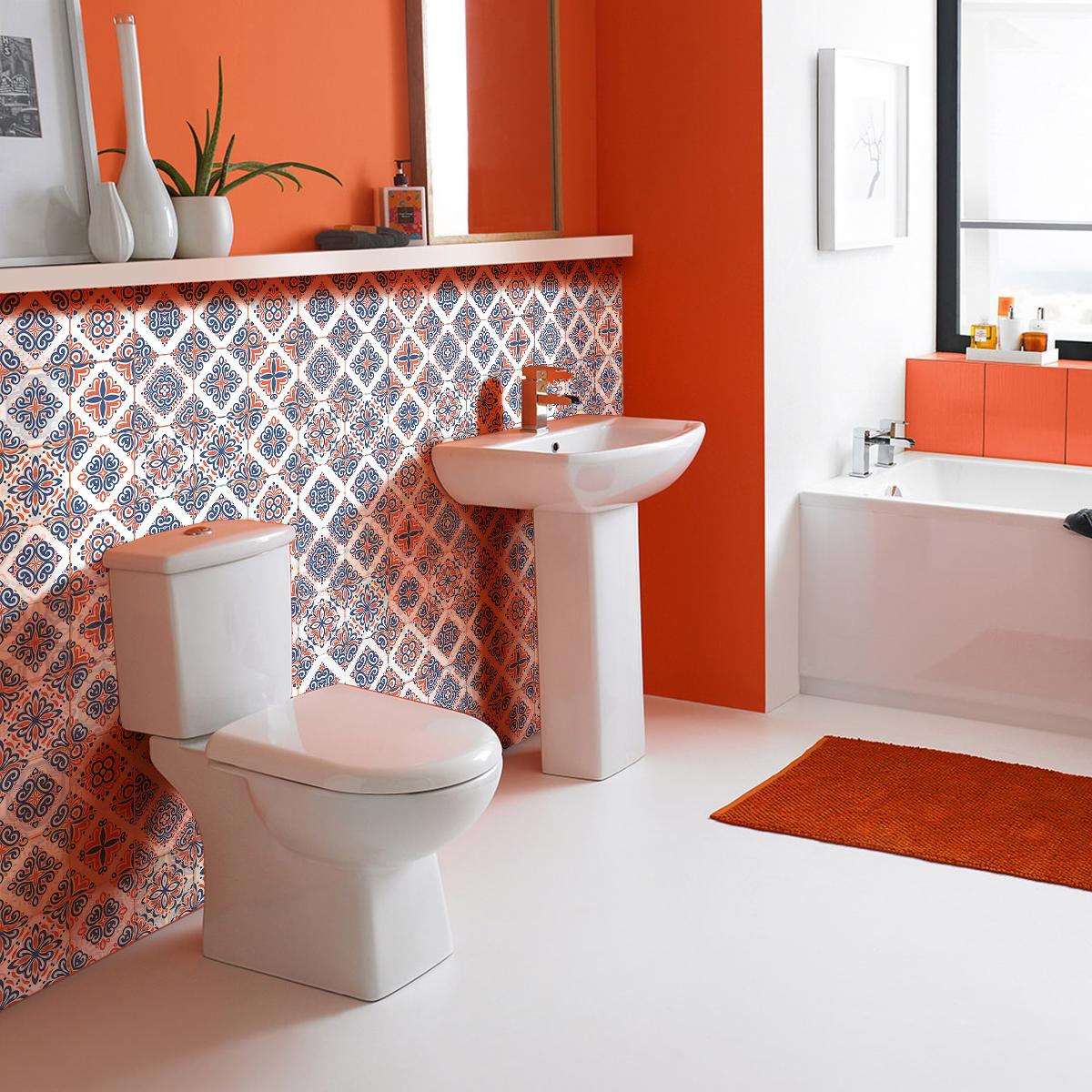 60 stickers carrelages azulejos sefania cuisine carrelages ambiance sticker. Black Bedroom Furniture Sets. Home Design Ideas