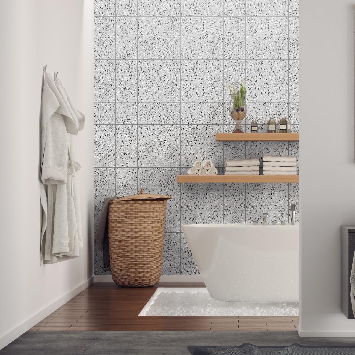 20 wall decal tiles Terrazzo