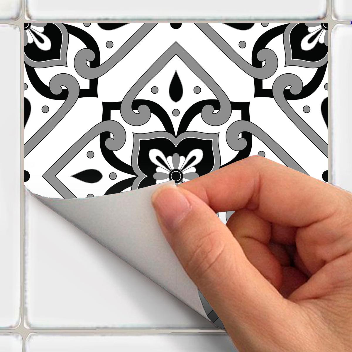 9 stickers carrelages azulejos dimendo - STICKERS CUISINE Carrelages - Ambiance-sticker