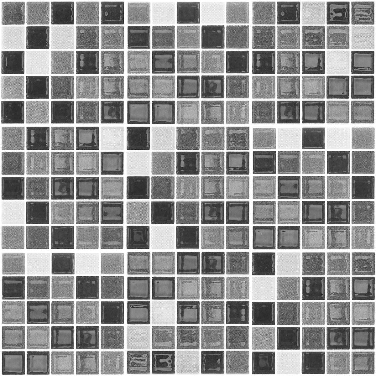 9 Stickers Carrelages Azulejos Mosaiques Nuance De Gris Art Et