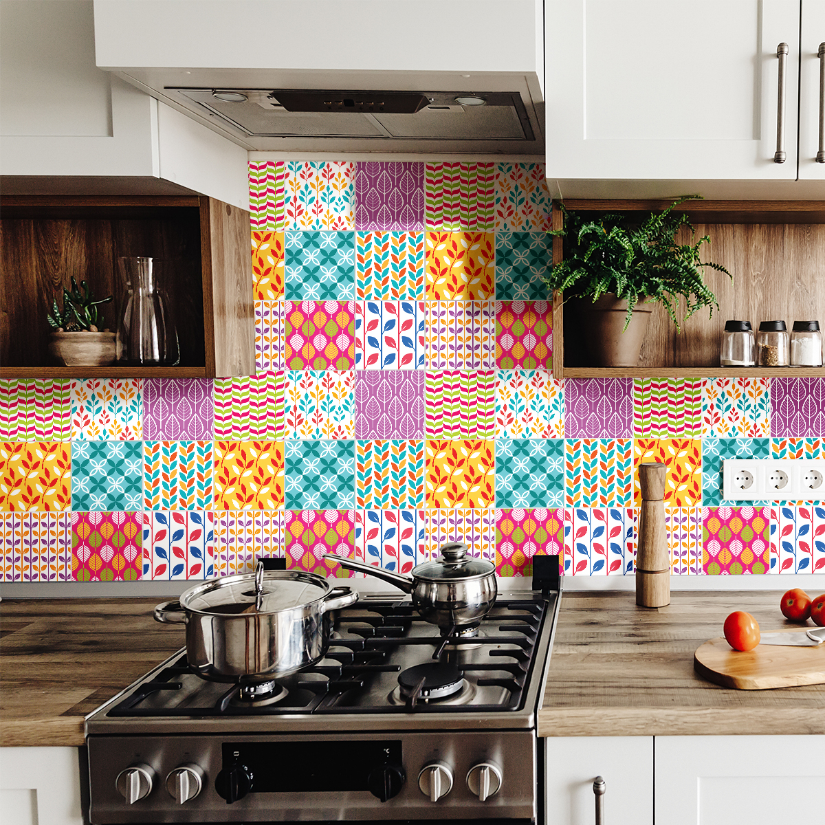 Stickers Carrelage Cuisine: 9 Stickers Carrelages Azulejos Rogriguez