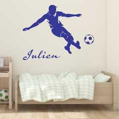 Stickers Football Footballeur Stickers Muraux Foot