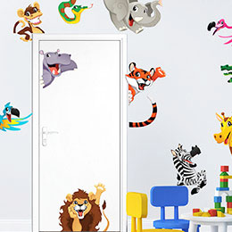 STICKERS ANIMAUX RIGOLOS