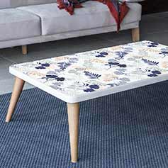 Stickers table basse