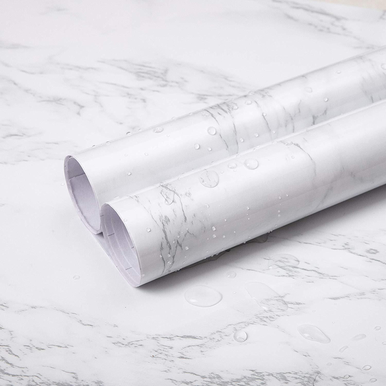 Specchio Adesivo Rotolo Ikea rotolo di marmo adesivo vinilico