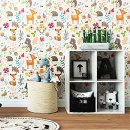 Adhesive wallpaper child room