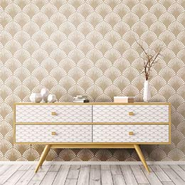Scandinavian wallpaper stickers
