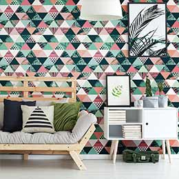 Tropical wallpaper stickers